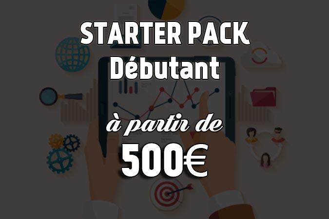offre starter pack débutant