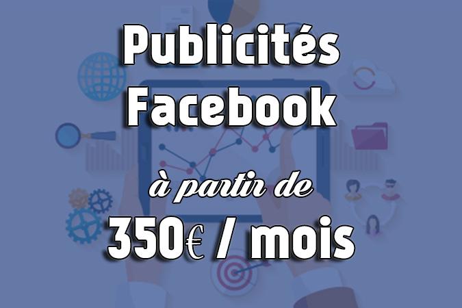offre publicités Facebook