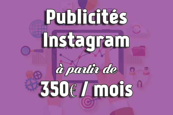 offre publicités Instagram